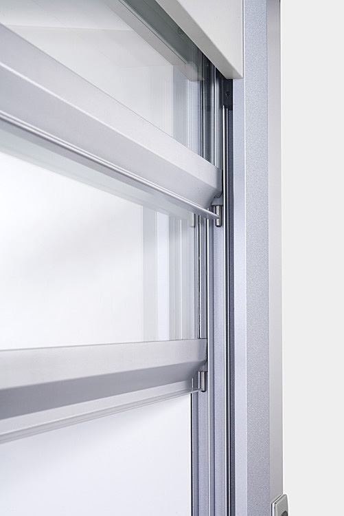 A closer look - Chemical Fume hood sash window