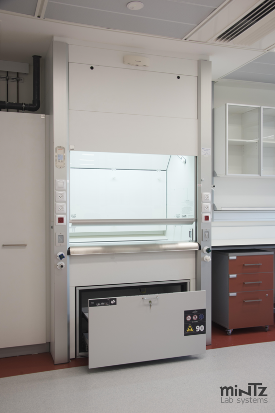 Chemical PAL - 202 fume hood with safety cabinet