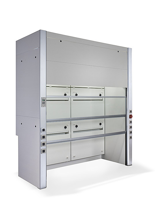 Rising doors WALK IN Chemical Fume hood