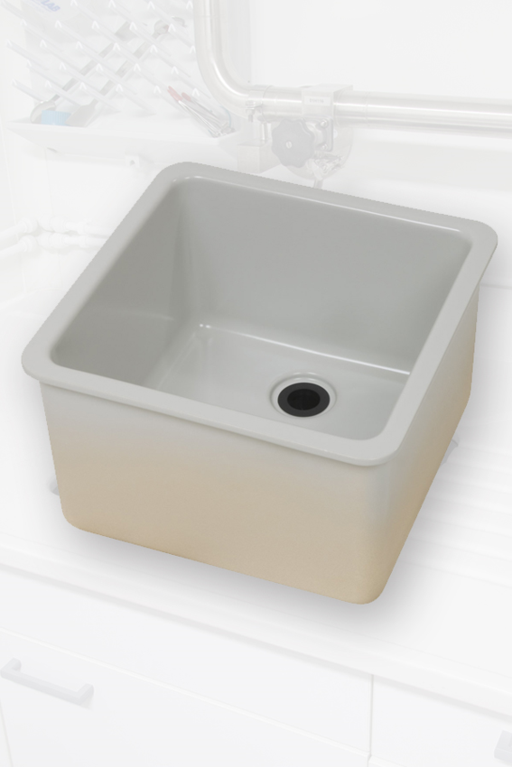 Laboratory ceramic sinks