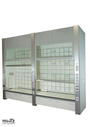 Double Reactor Fume hood