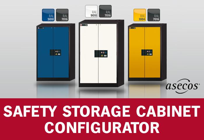 Asecos Cabinet Configurator