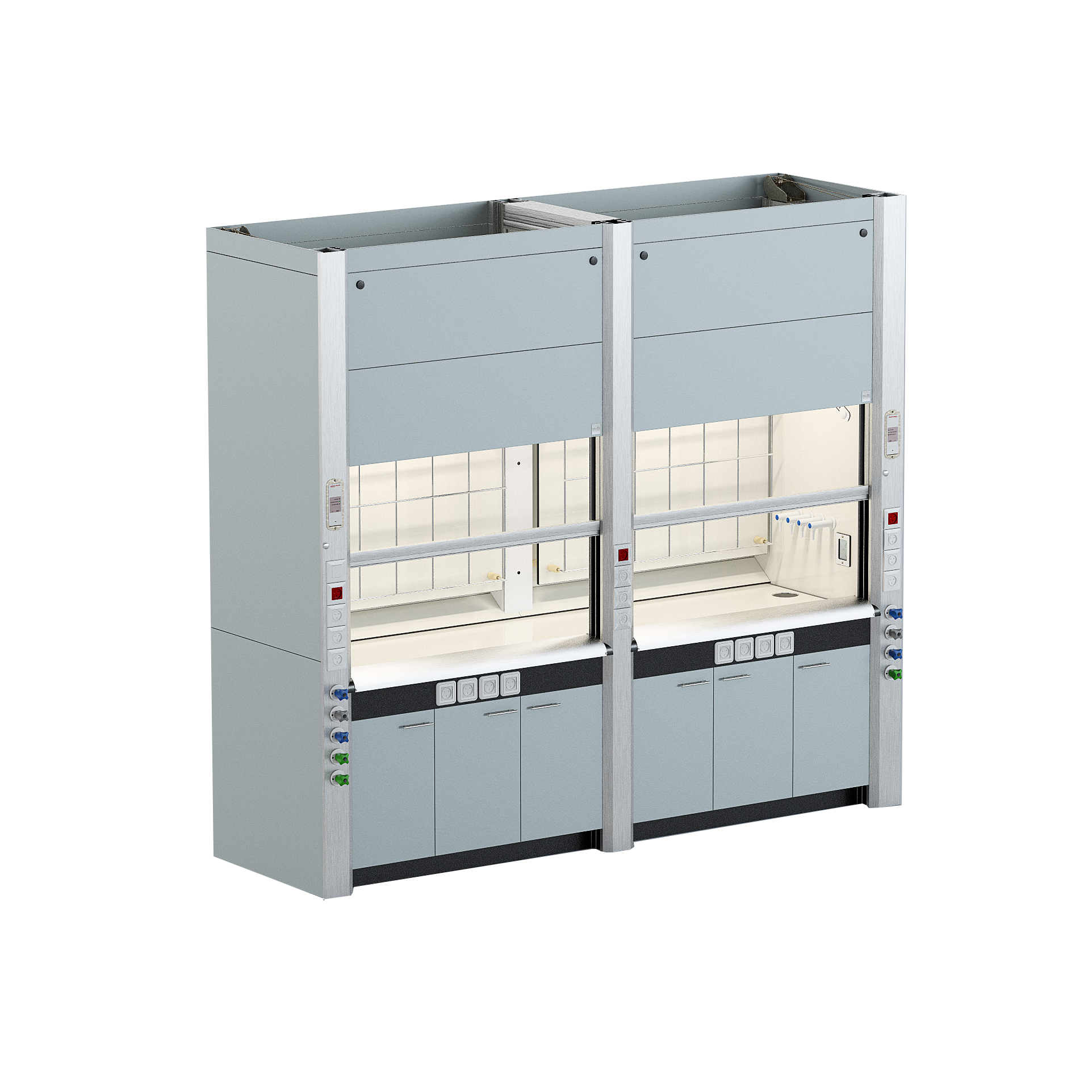 PAL Double Chemical fume hood
