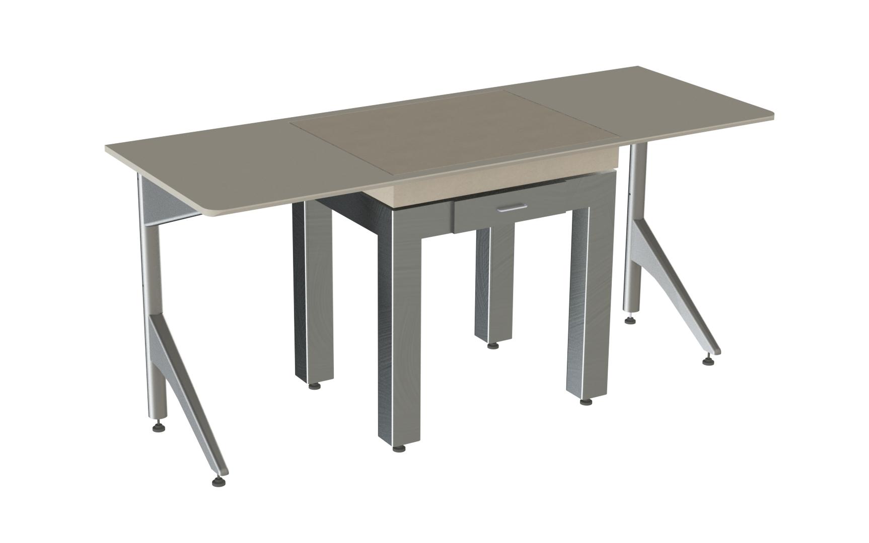 שולחן שקילה משולב